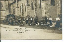 Campagne 1914-4° Bat Territorial Du Génie-carte Photo MAIRE Au Mans - Guerre 1914-18