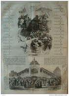 Pèlerinage à Sainte-Anne D'Auray (Bretagne) - Page Original 1866 - Documents Historiques