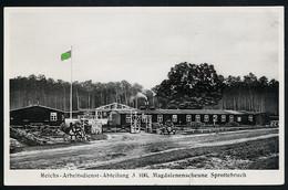 AK/CP RAD Arbeitsdienst  Sprottebruch  Sprottau   Schlesien   Ungel/uncirc.1933-45  Erhaltung/Cond. 2-  Nr. 00600 - Guerre 1939-45