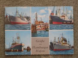 HAMBURG HARBOUR, 1960S - Cargos