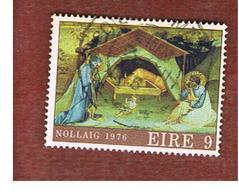 IRLANDA (IRELAND) -  SG 401  -    1976   CHRISTMAS      -     USED - 1949-... Repubblica D'Irlanda