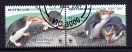 Australian Antarctic 2007 Royal Penguins $1 Pair CTO - Australian Antarctic Territory (AAT)