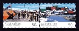 Australian Antarctic 2004 Mawson Station 50c Pair CTO - Australian Antarctic Territory (AAT)