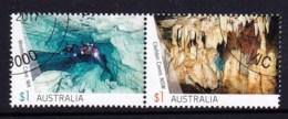 Australia 2017 Caves $1 Pair CTO - 2010-... Elizabeth II