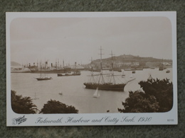 FALMOUTH HARBOUR AND CUTTY SARK 1930 - MODERN - Cargos