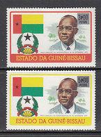 Guinea Bissau - Correo Yvert 23/4 ** Mnh  Personajes - Guinea-Bissau