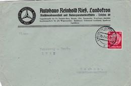 Brief Aus Landskron  ( Böhmen Und Mähren ) 1941 - Germany
