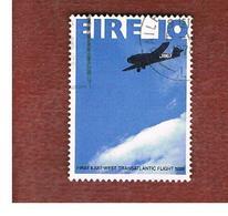IRLANDA (IRELAND) -  SG 419   -    1978  EAST-WEST TRANSATLANTIC FLIGHT      -     USED - 1949-... Repubblica D'Irlanda