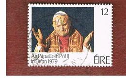 IRLANDA (IRELAND) -  SG 449   -    1979  GIOVANNI PAOLO II     -     USED - Usati