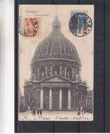 Danemark - Carte Postale De 1904 - Oblit Kjobenhavn - Exp Vers Chartres - Vue Marmorkirken - 1864-04 (Christian IX)
