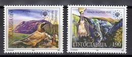Yugoslavia,Protection Nature 1995.,MNH - 1992-2003 République Fédérale De Yougoslavie