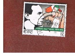 IRLANDA (IRELAND) -  SG 453   -    1979  P. PEARSE, PATRIOT    -     USED - 1949-... Repubblica D'Irlanda