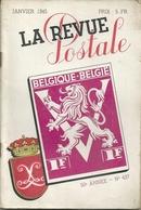 La Revue Postale éditée à Bruxelles. Un Lot De 31 Fasc. - Français (àpd. 1941)