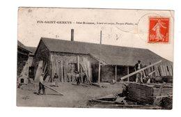 CPA 43 -  Fix Saint Geneys - Usine Romeuf, Scierie Mécanique, Parquets , Plinthe Etc - Francia