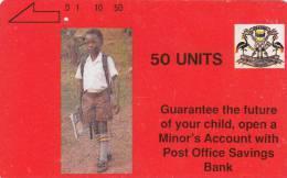 UGANDA(tamura) - P.O. Savings Bank, Tamura First Issue 50 Units, Used - Uganda
