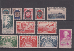 ALGERIE  ANNEE 1948/49   N°267/278     NEUFS XX - Algerije (1924-1962)