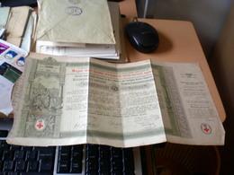 Magyar Szent Korona Orszagainak Voros Kereszt Egylete  Rothen Kreuze Red Cross 5 Forint Budapest 1882 - Hongrie