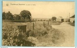 Fromiée (Gerpinnes)  Place Et école - Sépia - Neuve - TB - Gerpinnes