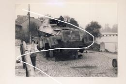 JL 1 Wehrmacht SdKfz Blindé Allemand à 8 Roues Détruit En Mai 40 Sur La Meuse Repro - 1939-45