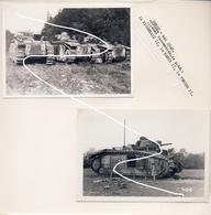 JL 1 Chars Français B1bis 1e DCR Mai 40 Combats De Denée. Prises De Guerre Repros - 1939-45