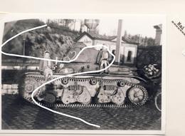 JL 1    Mai 40 Char Français Blindé Hotchkiss Chargé En Gare D'Hermeton/Meuse Repro - 1939-45