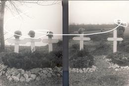 JL 1 Tombes Allemandes à Houx. Passage De La Meuse. Dinant Mai 40 Repros - 1939-45