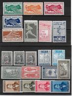 TURQUIE - ANNEE COMPLETE 1940 ** MNH (YVERT 934+935 ENTENTE BALKANIQUE SONT MH *) - COTE = 72 EUR. - 1921-... Republiek