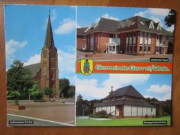 Gemeinde Garrel / Oldb. Katholische Kirche. Evangelische Kirche. Johannes Haus. - Oldenburg