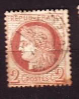 FRANCE  N°  51  Oblitéré  Cote 18 Euros - 1871-1875 Ceres