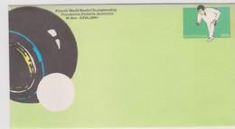 Australia 1980 Bowl Prepaid Envelope Mint. - 1980-89 Elizabeth II