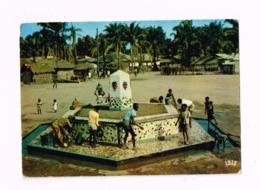La Fontaine à Poto-Poto. - Brazzaville