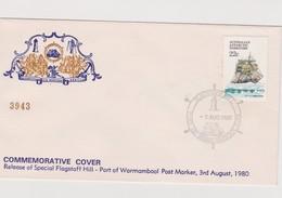 Australia 1980 Flagstaff Hill Commemorative Cover - 1980-89 Elizabeth II