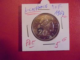 NOUVELLE-CALEDONIE 20 FRANCS 1967 QUALITE FDC ! - Nouvelle-Calédonie