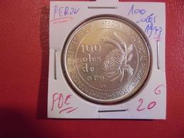 PEROU 100 SOLES 1973 ARGENT FDC ! - Pérou