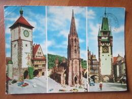 Freiburg Schwarzwald. La Belle Ville De Fribourg A L'entree De La Foret Noire Postmarked 1965 - Freiburg I. Br.