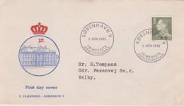 Denmark 1961 King 35 Ore FDC - FDC