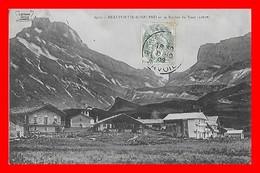 CPA (73) BEAUFORTIN-ROSELEND.  Le Village Et Le Rocher Du Vent...I0765 - France