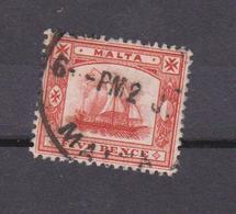 S1    MALTE  N°  14  Oblitéré  Cote 25 Euros - Malta (...-1964)