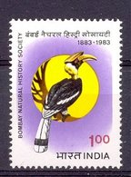 Mwe1196 FAUNA VOGELS NEUSHOORNVOGEL HORNBILL BIRDS VÖGEL AVES OISEAUX INDIA 1983 PF/MNH - Other