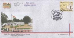 India  2018  Police  District Police Office  Keonjhar  Special Cover   # 17454  D  Inde Indien - Police - Gendarmerie