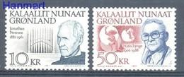 Greenland 1991 Mi 221-222 MNH ( ZE3 GNL221-222 ) - Music