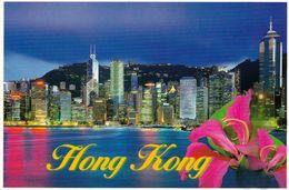 1 AK Hongkong * Central District Of Hong Kong Night * - Chine (Hong Kong)