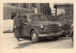FIAT 1100 -103-FOTO ORIGINALE-TARGA DI ALESSANDRIA - Non Classés