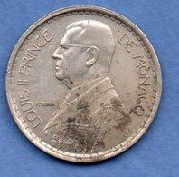 Monaco  -  20 Francs  1947  -  Km # 124  -  état  TB - Monaco
