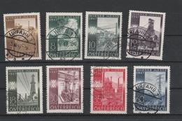 Mi. Nr. 803 - 810 Gestempelt - 1945-.... 2. Republik