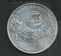 Portugal. Monnaie Commemorative De 10 Euros Argent Avec Son étui - Portugal
