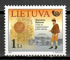 Lithuania 2001 Lituania / Post History MNH Historia Postal / Kc23  38 - Post