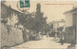 04. CHATEAU ARNOUX.  ENTREE DE LA VILLE - France