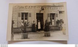 A Identifier : Carte Photo Café Restaurant ................ 1808 - Cartes Postales