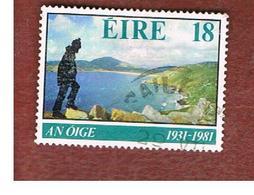 IRLANDA (IRELAND) -  SG 494   -    1981 IRISH YOUTH HOSTEL ASSOCIATION  -     USED - 1949-... Repubblica D'Irlanda